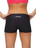 Woman's sporty buttocks Royalty Free Stock Image