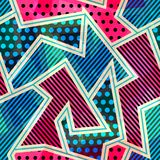 Bright cloth seamless pattern Stock Photography
