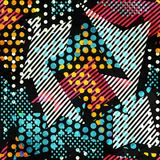 Bright cloth seamless pattern. (eps 10 vector file Stock Photo