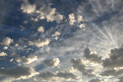 Bright Clouds Royalty Free Stock Photography