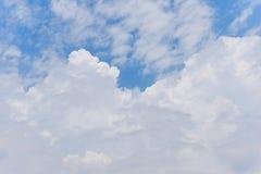 Bright Clouds Cumulonimbus Blue Sky Background Royalty Free Stock Photo