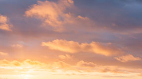 Bright cloudscape background Stock Photography