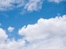 Bright cloudy sky Stock Images