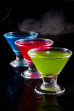 Bright cocktails Royalty Free Stock Photography