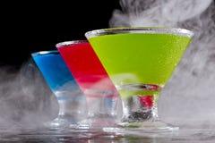 Bright cocktails Stock Photos