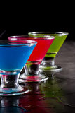 Bright cocktails Royalty Free Stock Photos