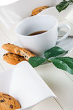 Bright coffee break theme Stock Photos