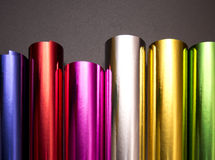 Bright color. Shimmers and reflects on glossy surfaces Stock Images