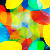 Bright color abstract geometric background vector illustration. (vector eps 10 stock illustration