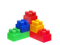 Bright Color Building Blocks Royalty Free Stock Photography