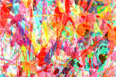 Bright color chaos Stock Images