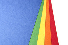 Bright Color Craft paper Royalty Free Stock Photography