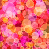 Bright color dots pattern Stock Image