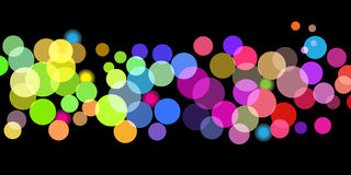 Bright color dots pattern Royalty Free Stock Photo