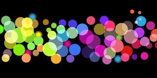 Bright color dots pattern vector illustration