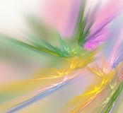 Bright color explosion Stock Photography