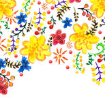 Bright color floral background Royalty Free Stock Photo