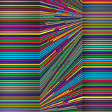 Bright color lines, colorful design with geometric shapes forming abstract beautiful background. Perfect backdrop for Royalty Free Stock Image