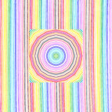 Bright color lines pattern Royalty Free Stock Photography