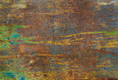 Bright color of old metal texture Royalty Free Stock Photos