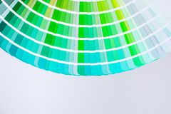 Bright color palette Royalty Free Stock Image