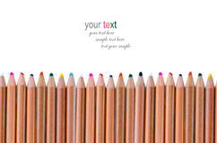 Bright Color Pencils Stock Image
