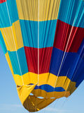 Bright Colored Balloon. Hot Air Balloon Detail Shot Stock Photos