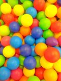 bright colored balls stock photo