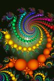 Bright Colored Beads Abstract Stock Photo