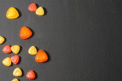 Bright colored candy, sweets, sweets Stock Photography