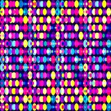 Bright colored circles geometric pattern. Vector eps 10 Royalty Free Stock Photo