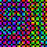 Bright colored cubes pattern Royalty Free Stock Photos