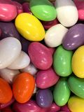Bright colored Easter candy background. stock photography