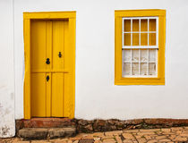 Bright colored facade Royalty Free Stock Photography