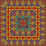 Bright colored handkerchief Royalty Free Stock Photo