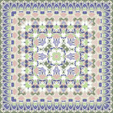 Bright colored handkerchief Stock Photos