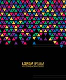Bright Colored Hexagonal Honeycomb Abstract Background Royalty Free Stock Photos