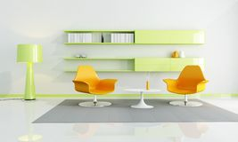 Bright colored interior Stock Image