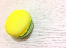 Bright colored macaroons isolated Royalty Free Stock Image