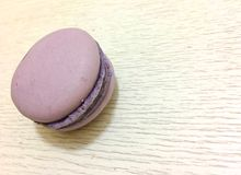 Bright colored macaroons isolated Stock Photography