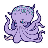 Bright colored octopus Royalty Free Stock Photos
