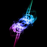 Bright colored smoke Royalty Free Stock Photos