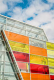 Bright colored windows Royalty Free Stock Images