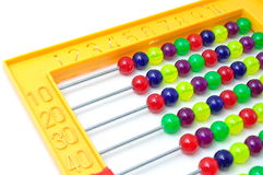 Bright colorful abacus Stock Images