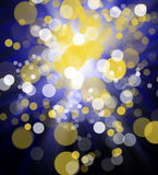 Bright colorful abstract bokeh circles for background use Royalty Free Stock Image
