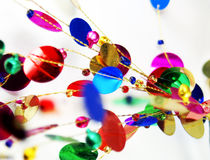 Bright and colorful abstract decorations Stock Photos