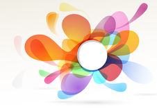 Bright colorful abstract design element Royalty Free Stock Photo