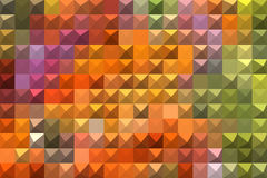 Bright colorful abstract mosaic background stock illustration