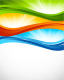 Bright colorful background Stock Photography