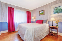 Bright colorful bedroom interior Royalty Free Stock Photography